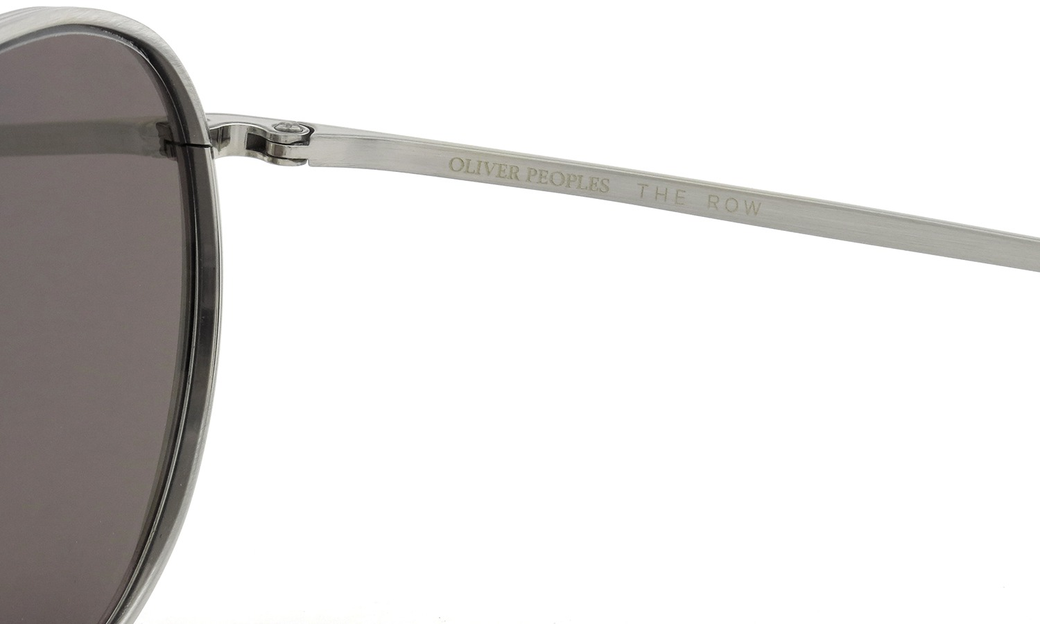 OLIVER PEOPLES × THE ROW サングラス BROWNSTONE col.BS 49size