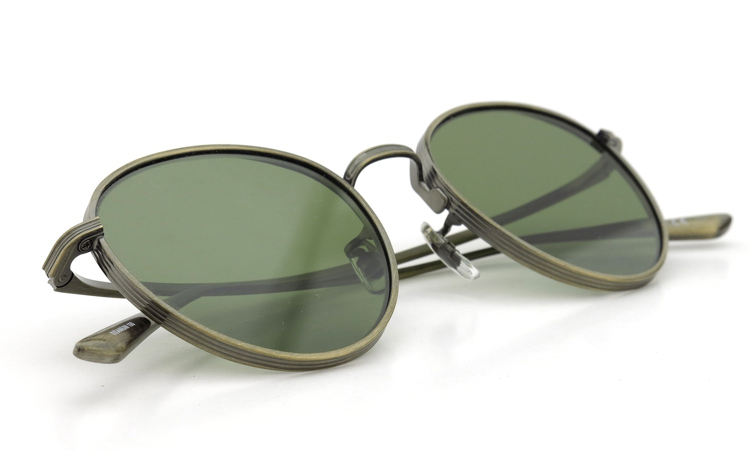 OLIVER PEOPLES × THE ROW サングラス BROWNSTONE col.AG 49size