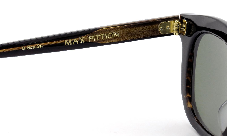 MAX PITTION サングラス [MAP COLLECTION] Livingston 47size D.Brn.Sa. Lense:G15