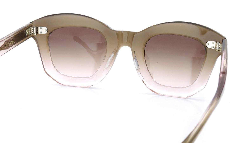 MAX PITTION マックス・ピティオン サングラス Politician ポリティシャン 45size Nd.Pink Lense:Nude-Grad