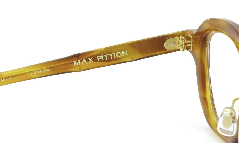 MAX PITTION マックス・ピティオン メガネ [MAP COLLECTION] Bronson ブロンソン 44size L.Brn.Sa.