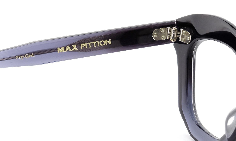 MAX PITTION メガネ Politician ポリティシャン 45size Purple Gradation