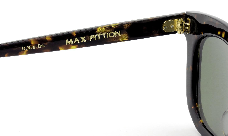 MAX PITTION サングラス [MAP COLLECTION] Bigsby ビグスビー 47.7size D.Brn.Trt. Lense:G15