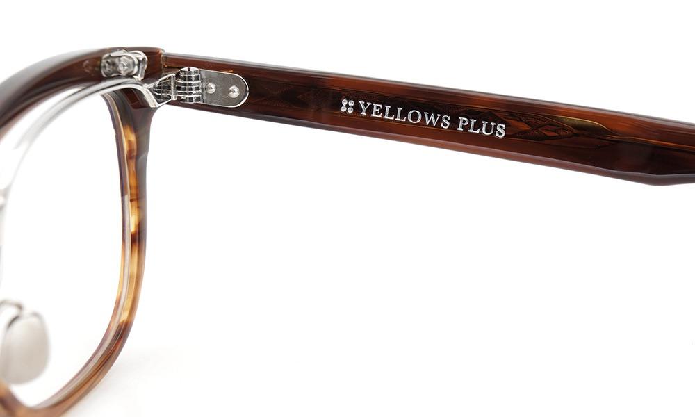 YELLOWS PLUS イエローズプラス 跳ね上げ式メガネ Jack C443 demi gradation