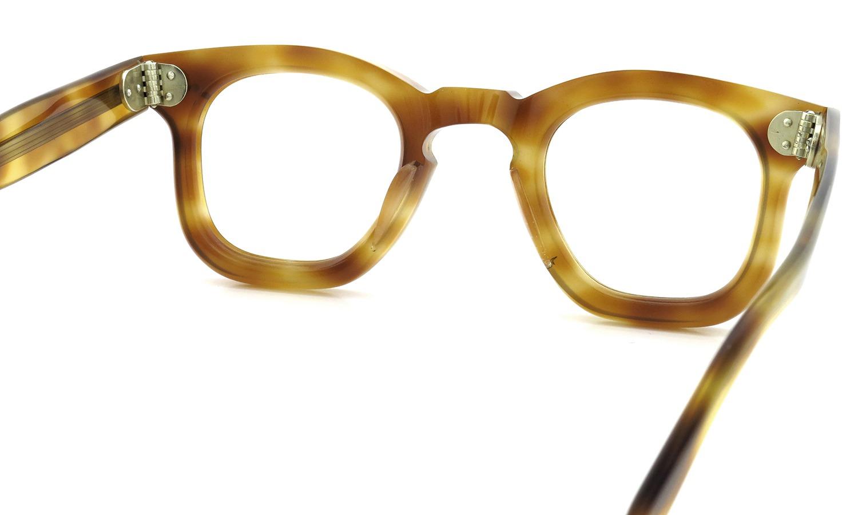 FRANCE Vintage フランス ヴィンテージ メガネ 推定1950年代 3-DOTS RIGHT-ANGLE-WELLINGTON LIGHT-DEMI