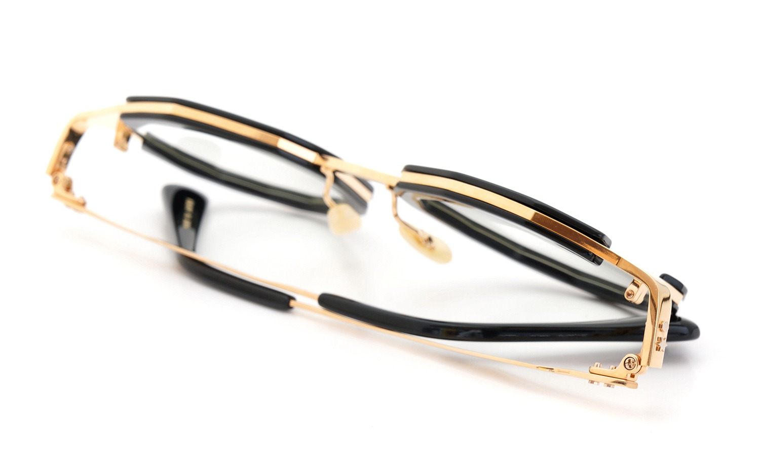 MASAHIROMARUYAMA MM-0020 col.1 BLACK/GOLD (straight)