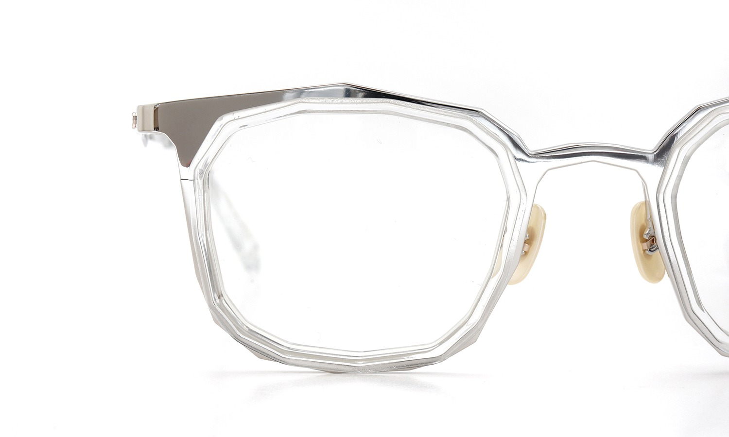 MASAHIROMARUYAMA MM-0022 col.6 SILVER/CLEAR (straight)