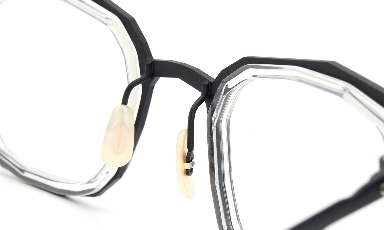 MASAHIROMARUYAMA(マサヒロマルヤマ) メガネ MM-0022 col.7 BLACK/CLEAR