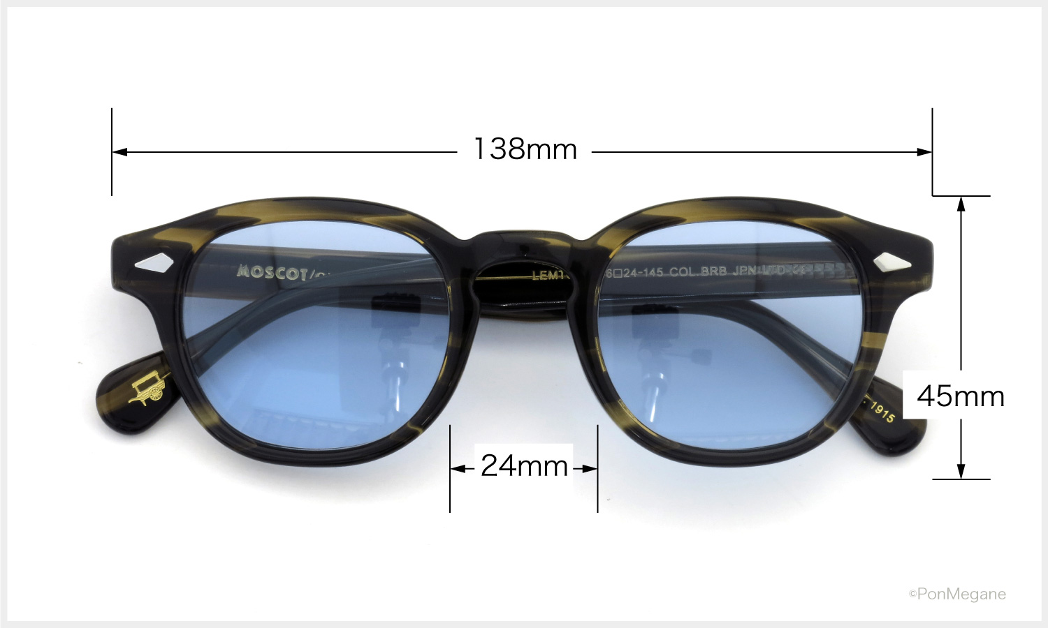 MOSCOT LEMTOSH BRB JPN-LTD サングラス
