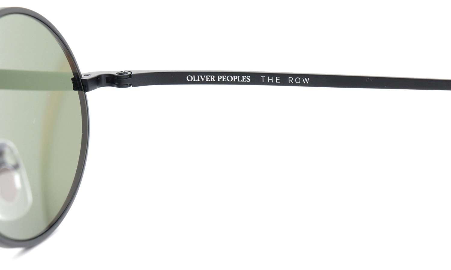 OLIVER PEOPLES × THE ROW サングラス EMPIRE-SUITE MBK 49size