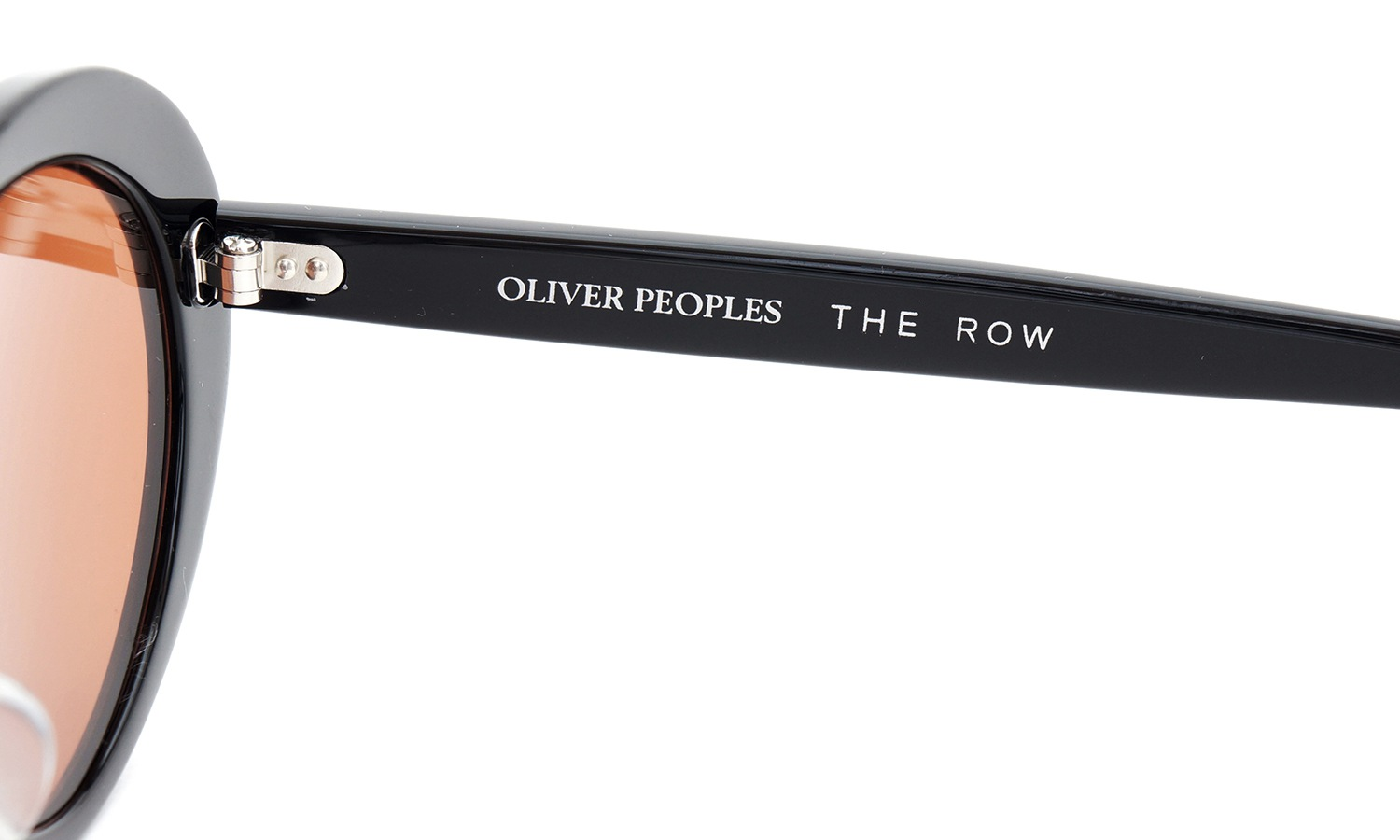 OLIVER PEOPLES × THE ROW サングラス Parquet BK 50size