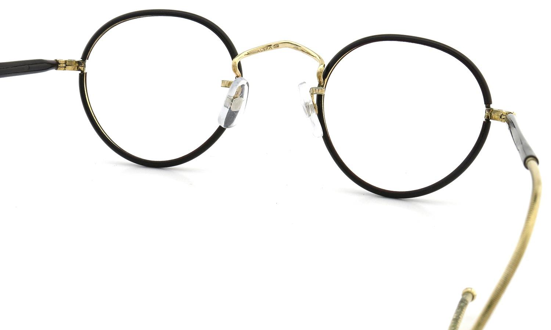 ALGHA WORKS(SAVIL ROW) vintage メガネ Panto EX-Dark-Brown/Gold 42-22