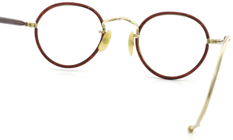 ALGHA WORKS(SAVIL ROW) vintage Panto Chestnut/Gold 42-22