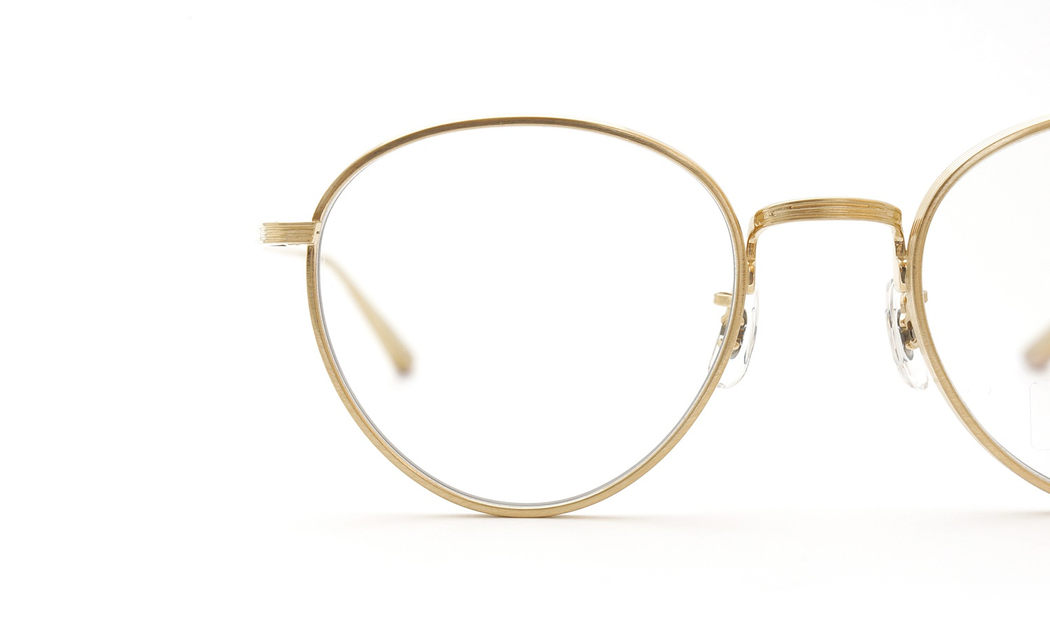 OLIVER PEOPLES × THE ROW メガネ BROWNSTONE col.BG 11