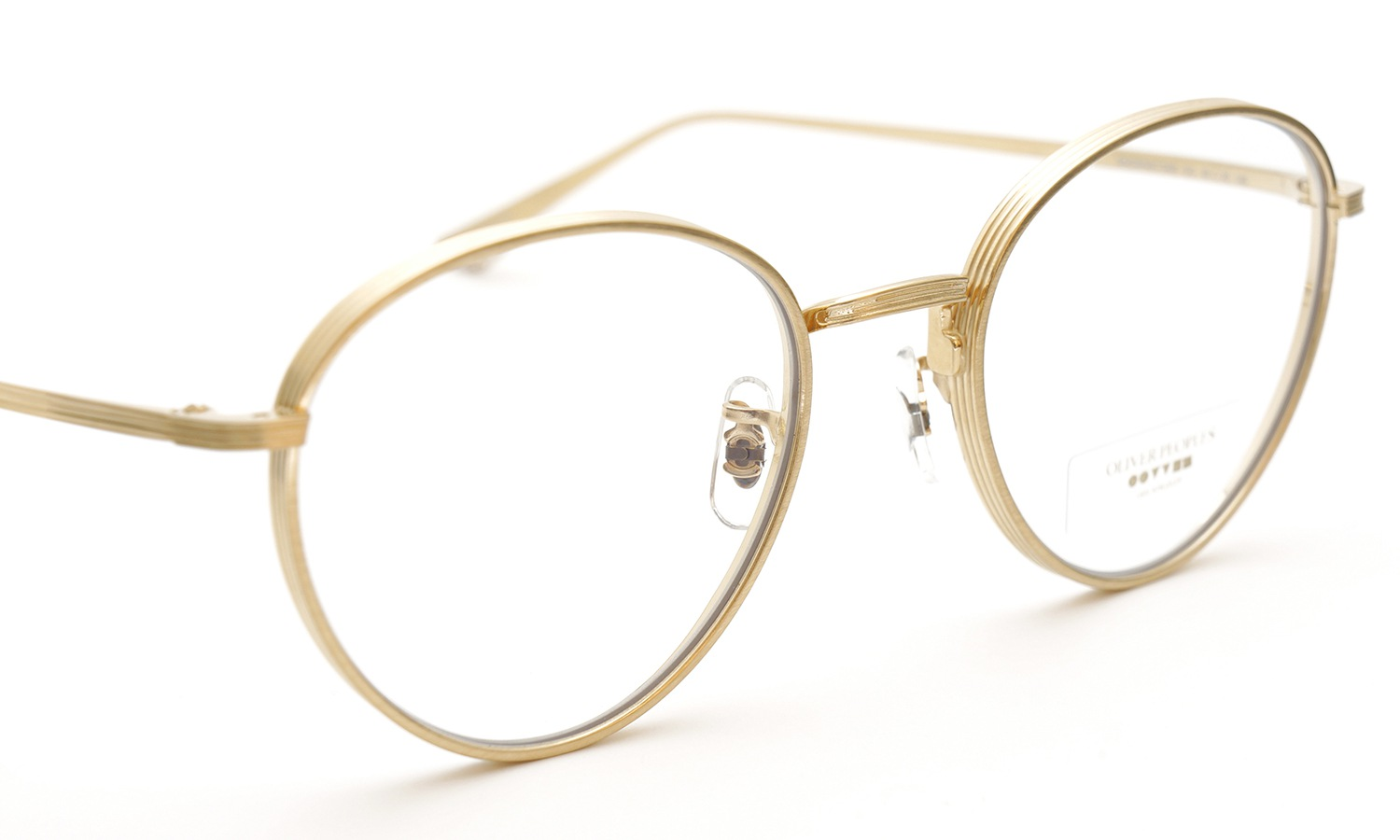 OLIVER PEOPLES × THE ROW メガネ BROWNSTONE col.BG 1