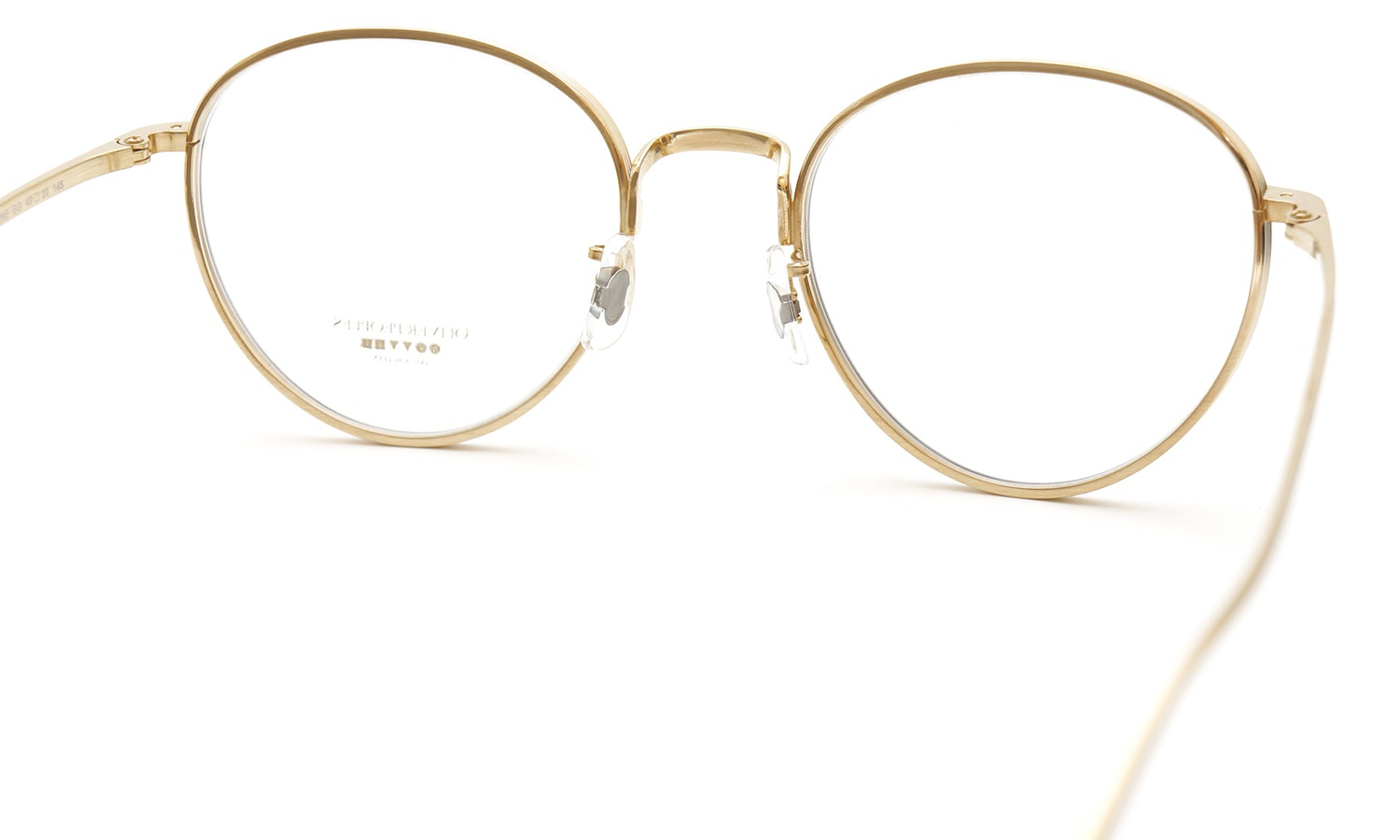 OLIVER PEOPLES × THE ROW メガネ BROWNSTONE col.BG 2