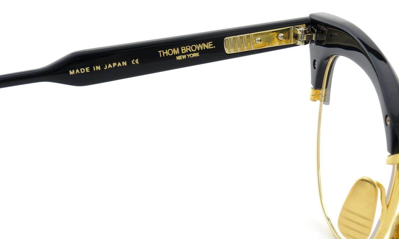 THOM BROWNE. メガネTB-507-C NVY-GLD 51size