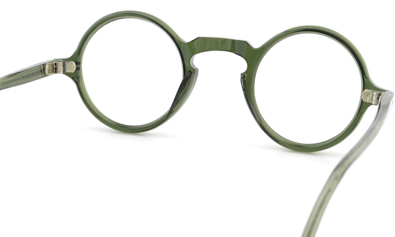 FRENCH Vintage ROUND DARK-GREEN