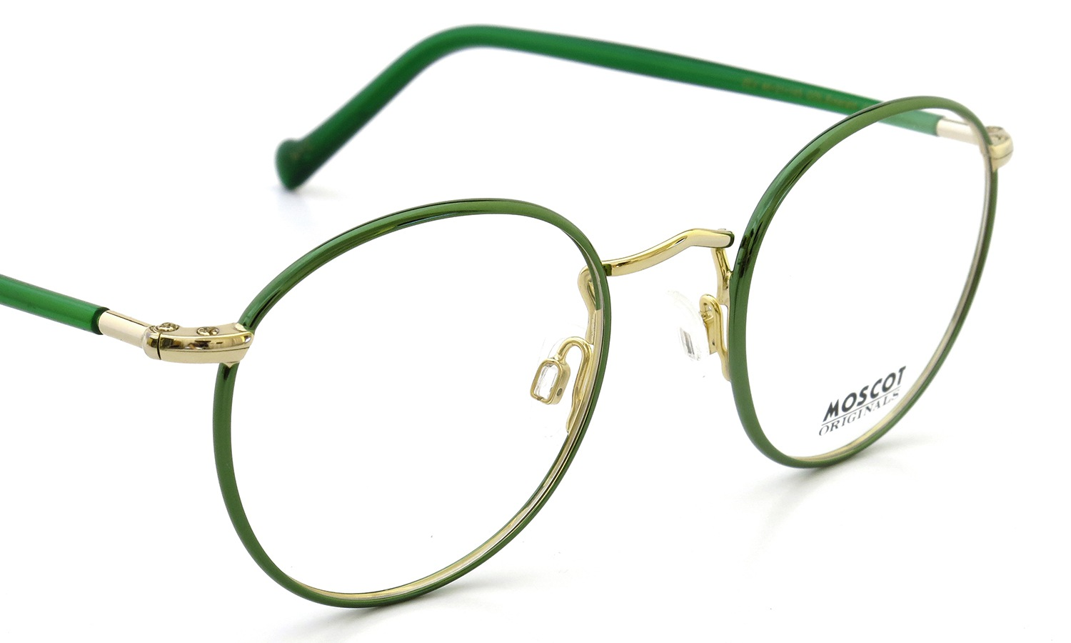 MOSCOT メガネ ZEV 46size Col.Emerald/Gold