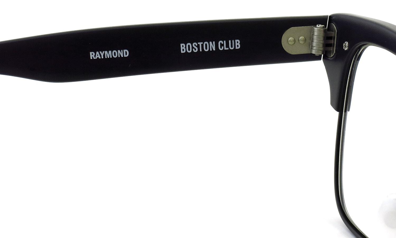 BOSTON CLUB メガネ RAYMOND col.01 BLACK