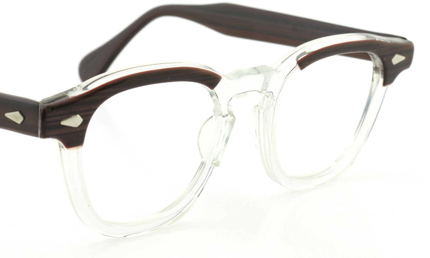 ART Optical vintage メガネ ARNEL REDWOOD C.B. 46-24