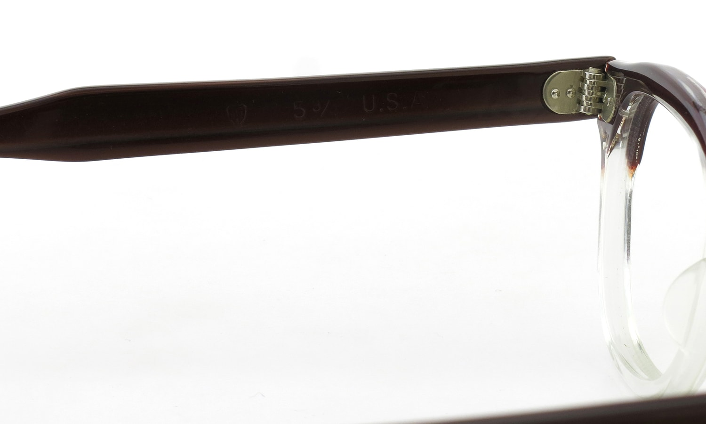 TART Optical vintage 通販 ARNEL REDWOOD C.B.-CLEAR 44-24 [04]