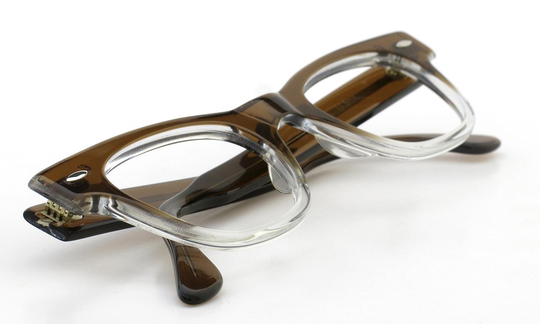 <h2>TART OPTICAL vintage 1950年代 COUNTDOWN BROWN FADE 46-24 (V3)