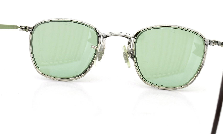 American Optical vintage 1960s AVIATOR WELLINTON with ORIGINAL GREEN GLASS LENS 46-22