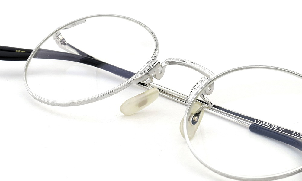 Oliver Goldsmith メガネ CHARLES 47size Silver