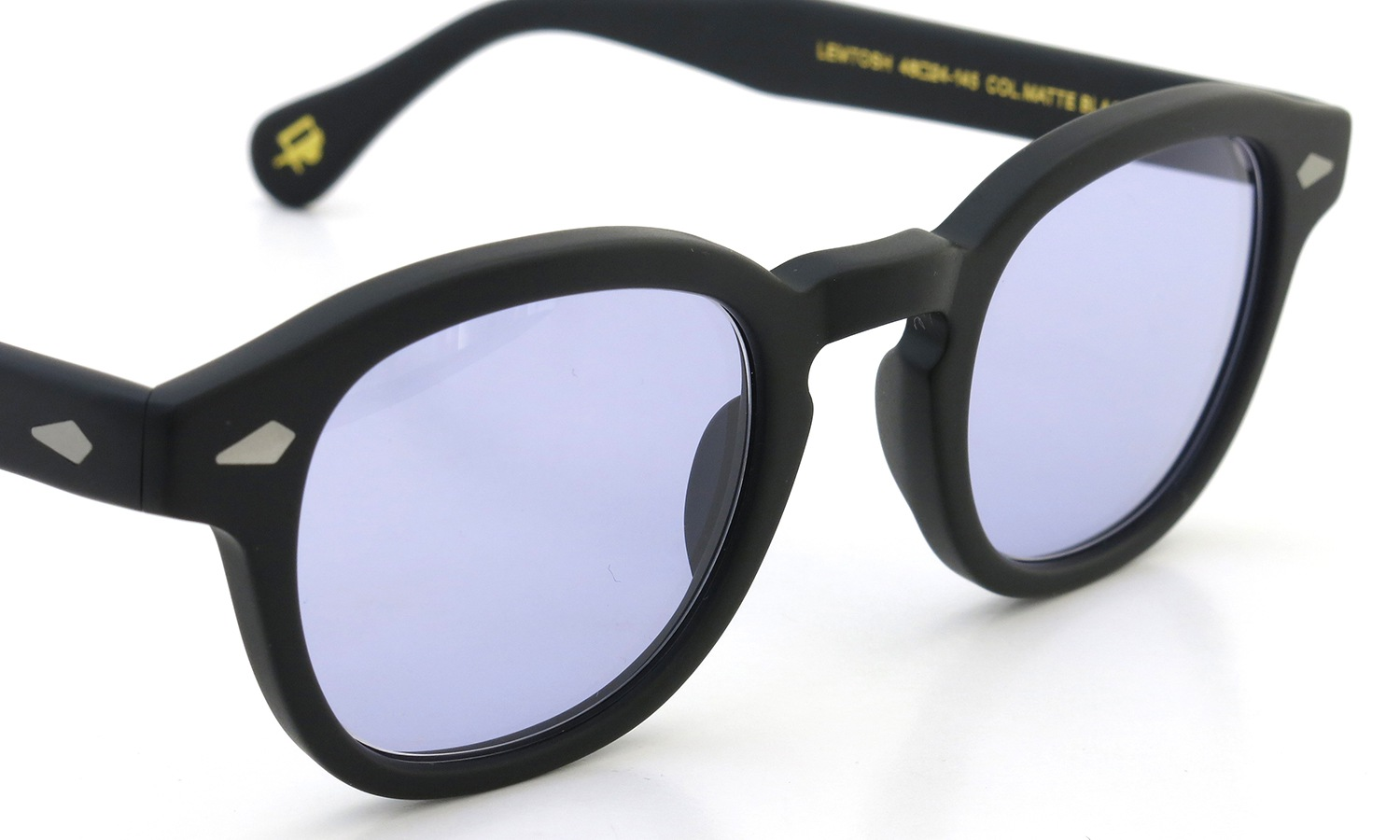 MOSCOT LEMTOSH MATTE-BLACK 46 Light-Purple-Lense  詳細画像