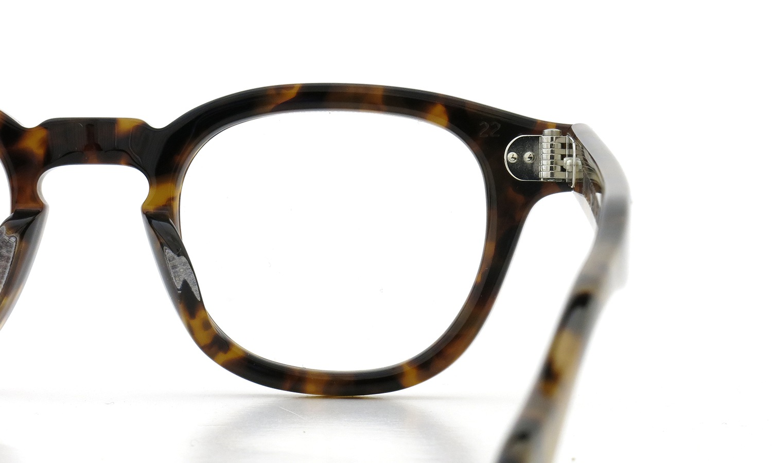 JULIUS TART OPTICAL AR-42-22 PL-009C TORTOISE