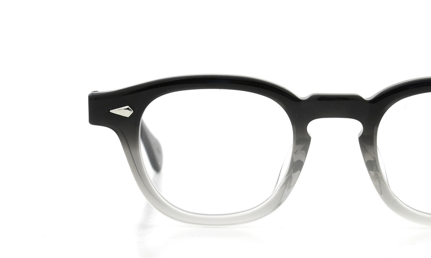 JULIUS TART OPTICAL AR-42-22 PL-009B BLACK CLEAR FADE