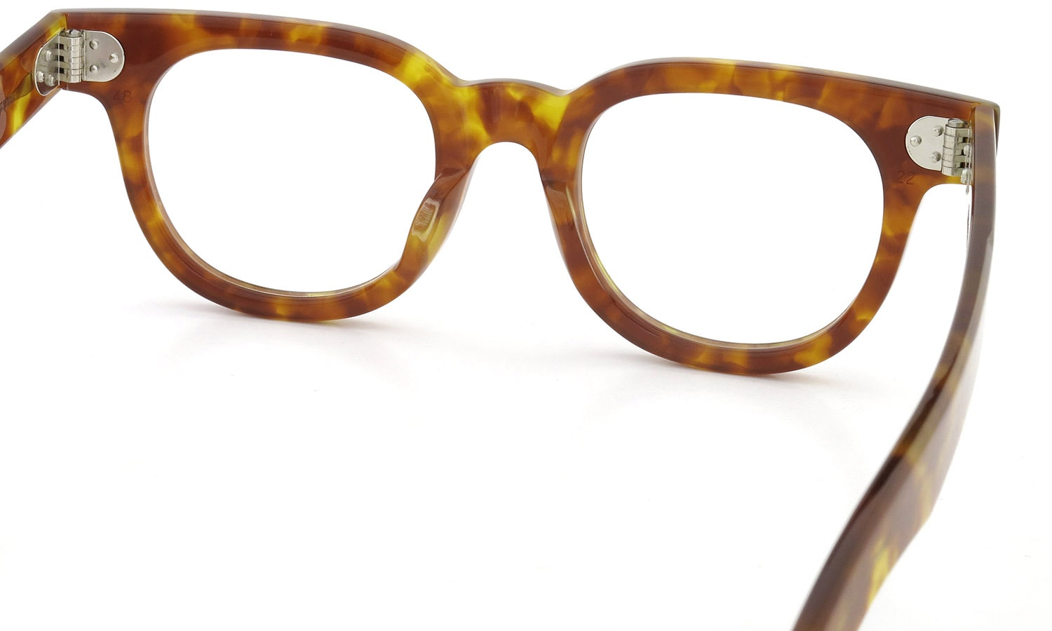JULIUS TART OPTICAL FDR-48 PL-006F LIGHT TORTOISE