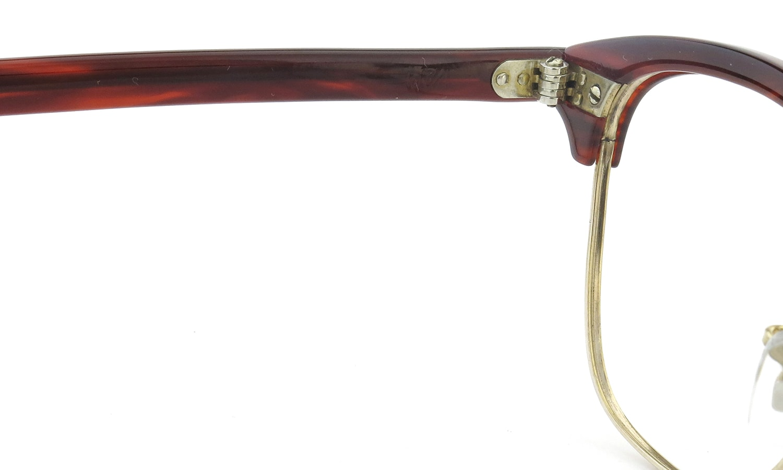 AO Vintage Malcolm-X type:2 1/10 12KGF ウイング鋲 Red-Sasa/Gold