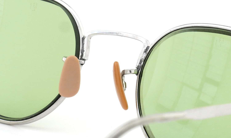 American Optical PANTO SILVER Bausch&Lomb-Green-Lense