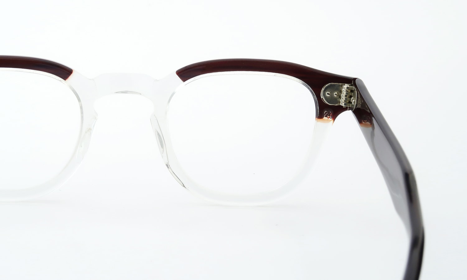 TART Optical vintage ARNEL REDWOOD CB-CLEAR 44-24