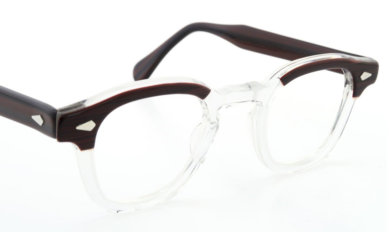 TART Optical vintage ARNEL REDWOOD CB-CLEAR 44-24