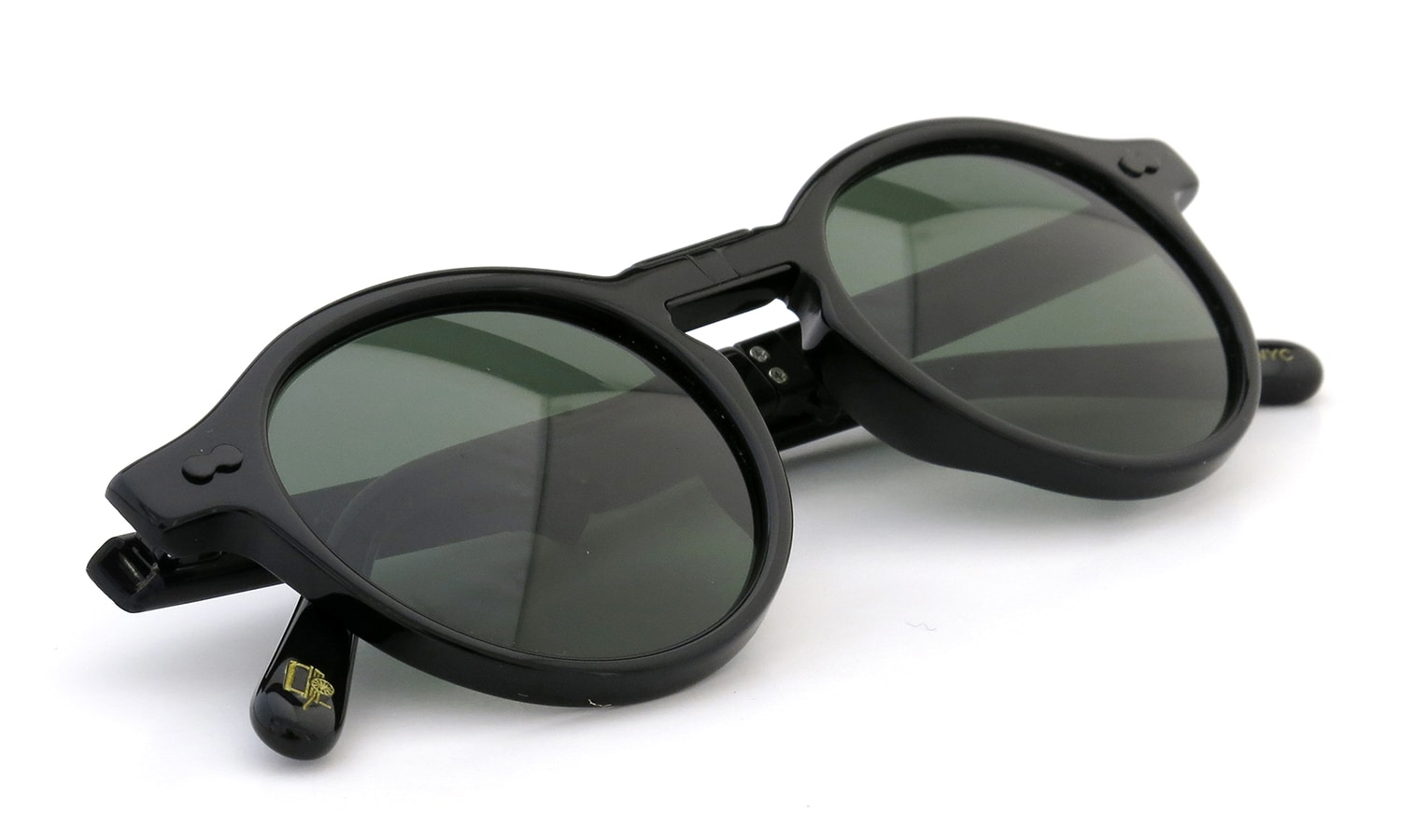 MOSCOT×WINGS+HORNS MILTZEN FOLD BLACK