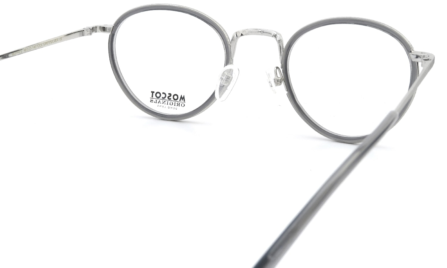 MOSCOT BUPKES 48 GREY/SILVER