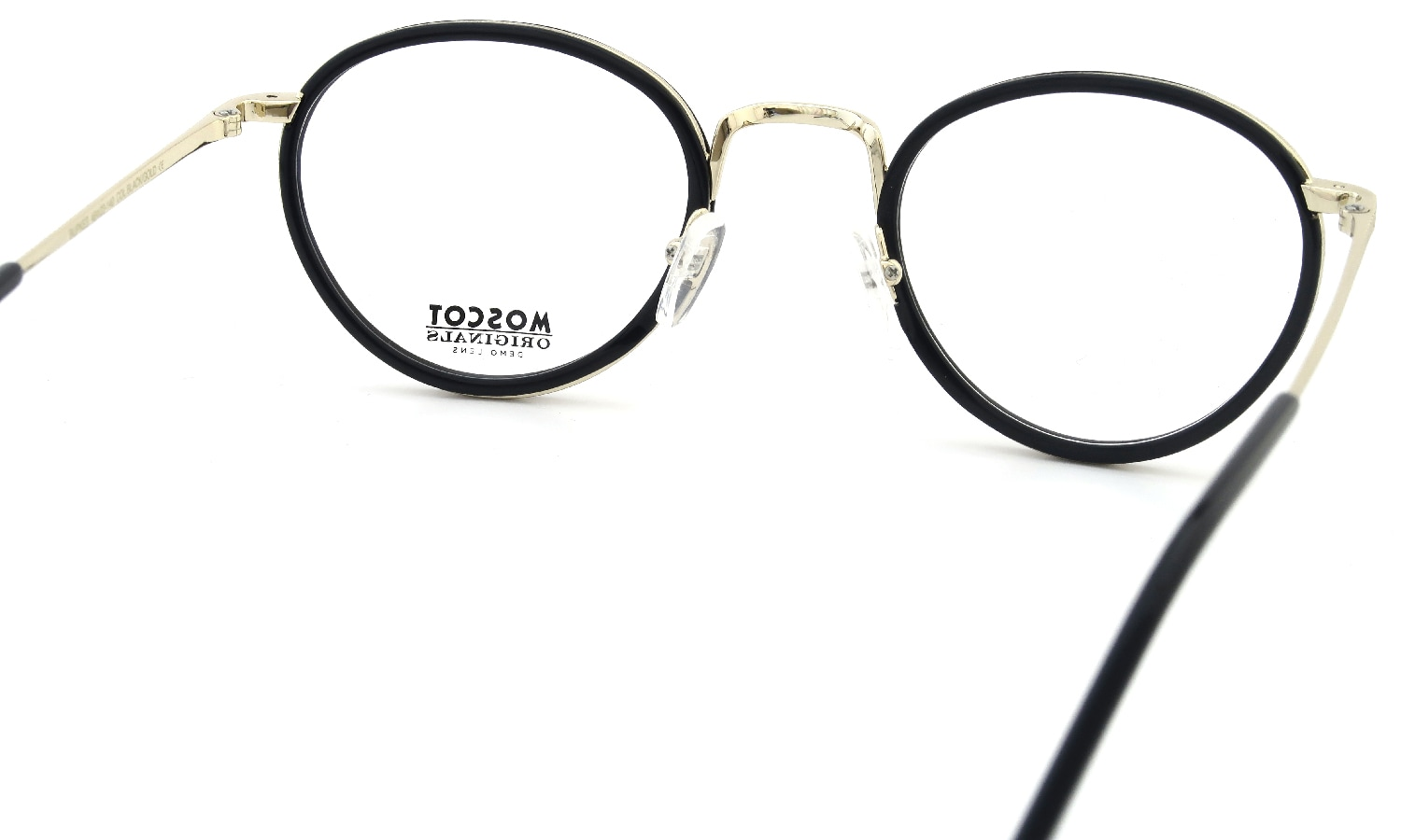 MOSCOT BUPKES 48 BLACK/GOLD