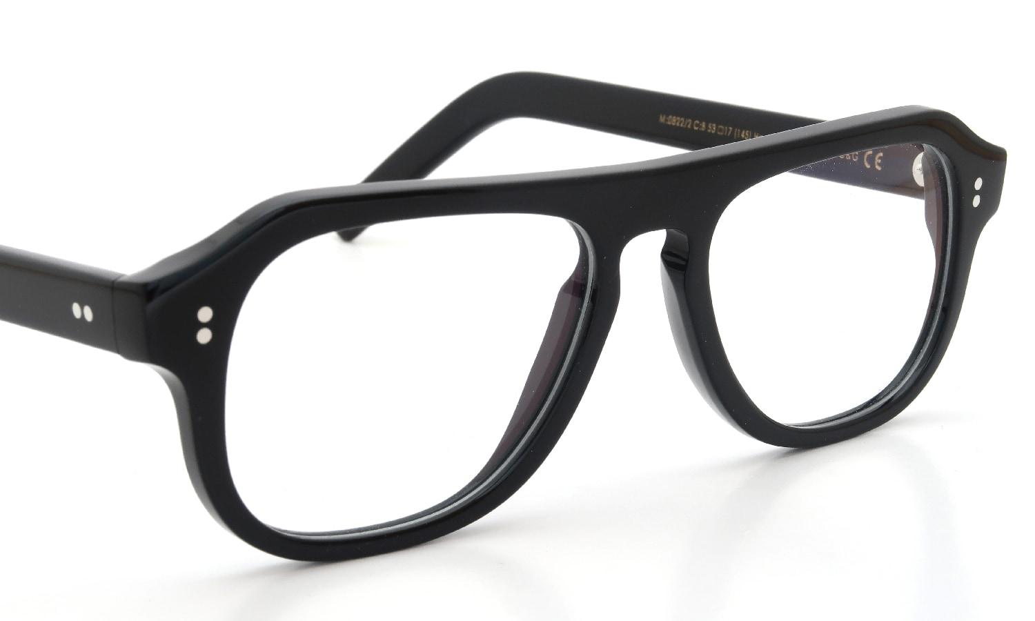 CUTLER AND GROSS メガネ 0822/2 BLACK
