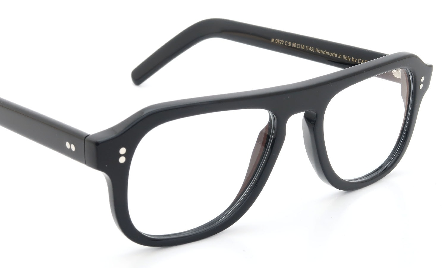 CUTLER AND GROSS メガネ 0822 BLACK
