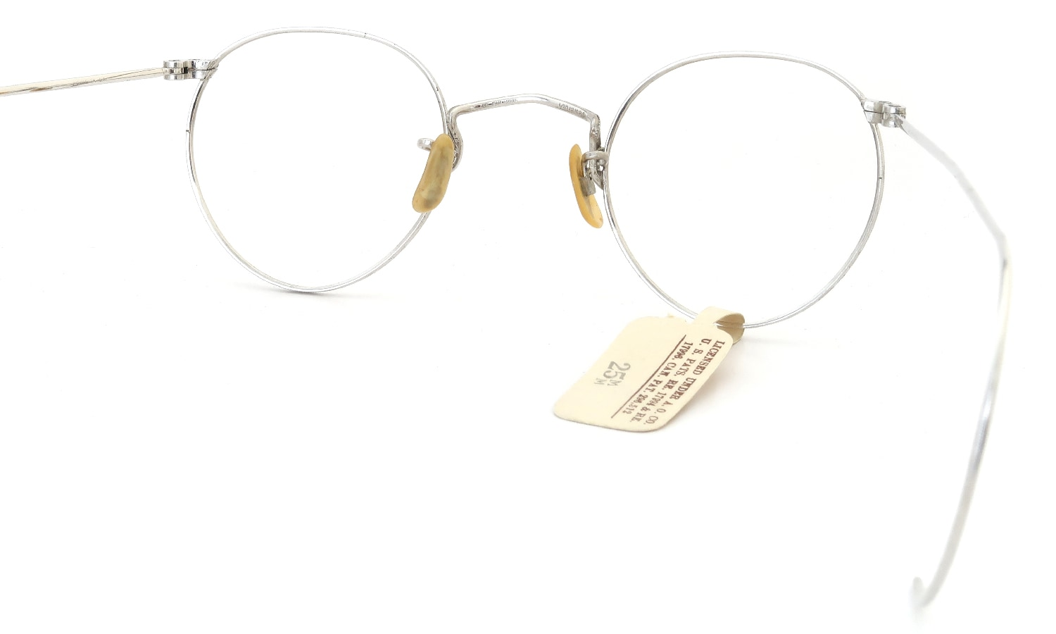 Universal Optical vintage FUL-VUE PANTO WHITE-GOLD 1/10 12KGF