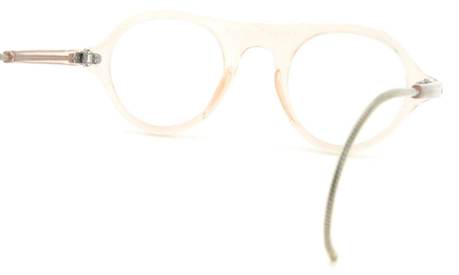 American Optical vintage SAFTY-GOGGLE P3 CRYSTAL-BEIGE 44-24