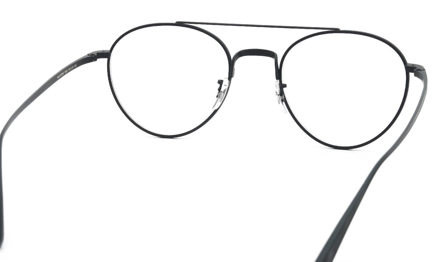OLIVER PEOPLES × THE ROW 伊達メガネ NIGHTTIME MBK