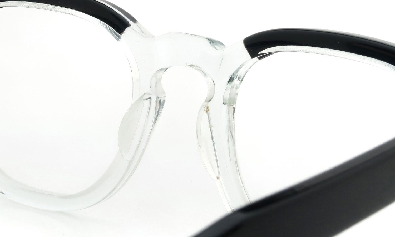 TART OPTICAL vintage ARNEL BLACK-CLEAR 44-20
