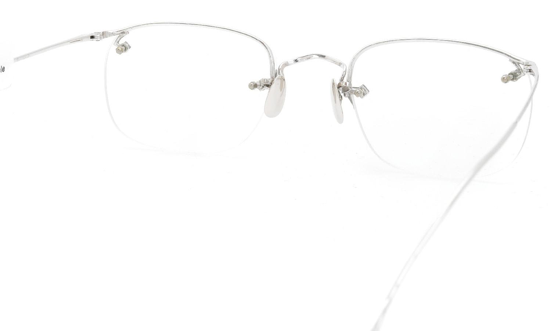 The Spectacle/ American Optical vintage 1944 Everjax Ful-Vue Sterling WG  1/10 12KGF Solid-12K-Gold-Nose-Pads