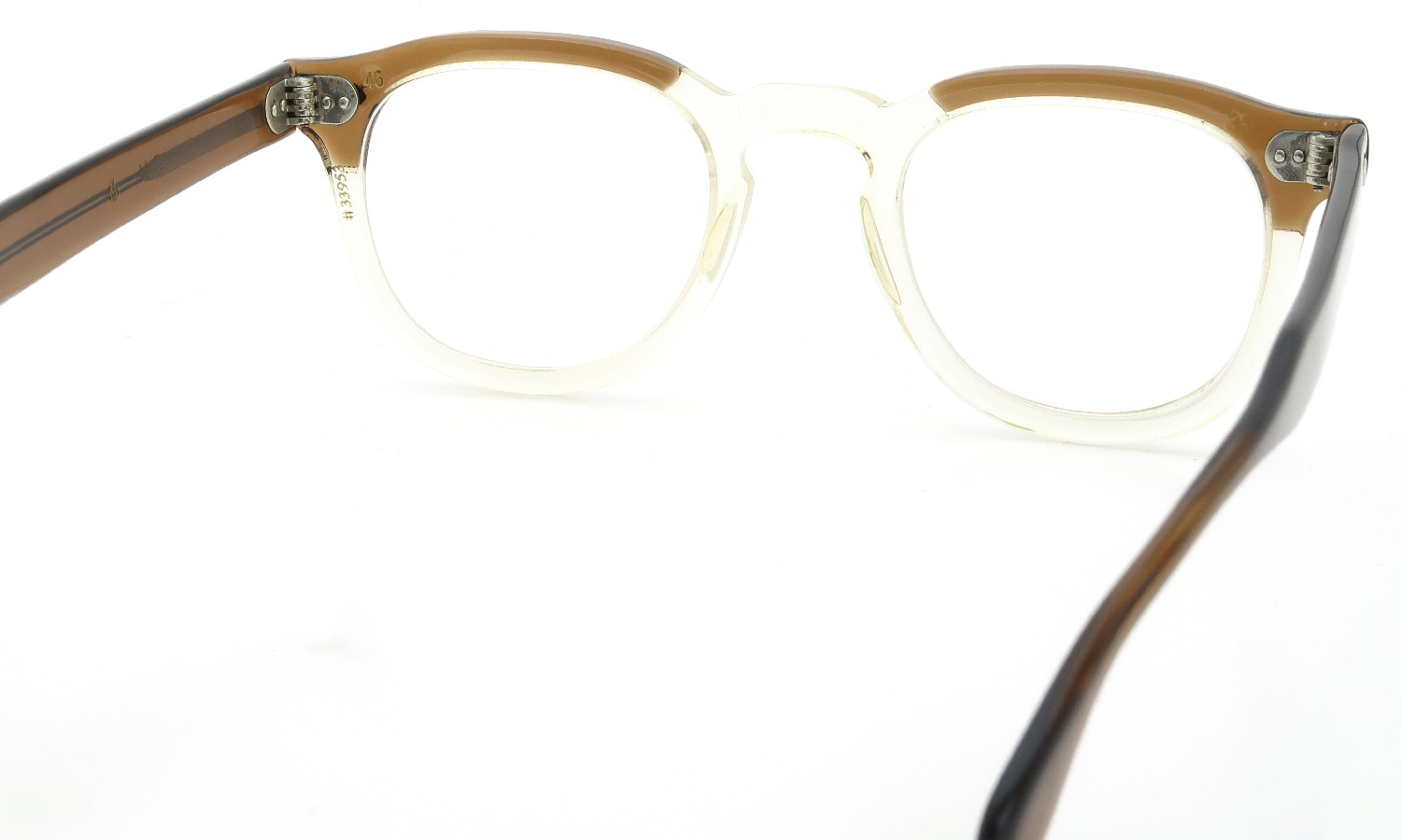 TART Optical vintage 1950s〜1970s ARNEL BROWN-SMOKE-C 46-24