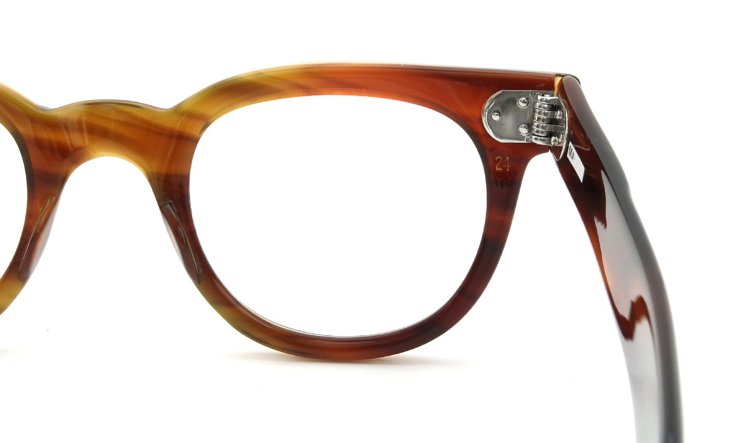 The Spectacle/ TART Optical 1950s FDR AMBER 46-24