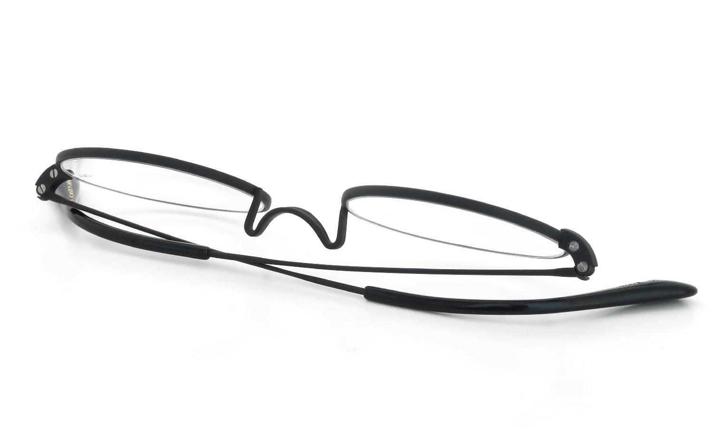 オリバーゴールドスミス メガネ Oliver Oval/Pro Titanium M Nero
